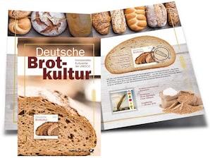 """Erinnerungsblatt """"Deutsche Brotkultur"""""""