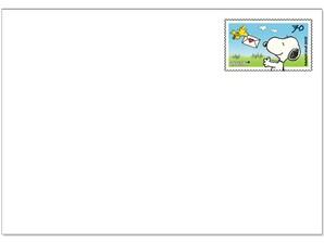 "Blankoganzsache ""Snoopy"""