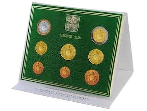 Vatikan Kursmünzensatz 2018