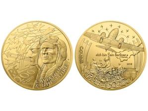 200 Euro Goldmünze  70 Jahre Berliner Luftbrücke