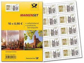 """Markenset """"1000 Jahre Weihe Dom zu Worms"""", 0,90 EUR, 10er-Set"""