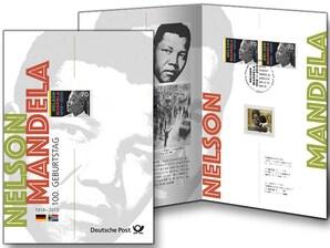 """Erinnerungsblatt """"100. Geburtstag Nelson Mandela"""""""