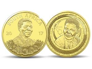 "Münz-Edition Südafrika: ¿Nelson Mandela"", Goldmünze 5 Rand"