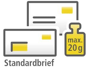 Monatliches Abonnement - 20er-Markenset zu 0,70 EUR, selbstklebend, Standardbrief