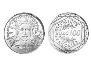 """100 Euro """"Marianne"""" 2018, Silber"""