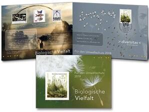 "Schmuckblatt ""Biologische Vielfalt"""