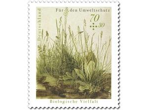 Biologische Vielfalt, Briefmarke zu 0,70 + 0,30 EUR, 10er-Bogen