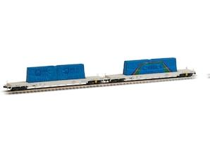 """2-er Set Glastransporter """"VEGLA"""", IV/V, Spur N"""