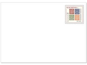"""Blankoganzsache """"Tag der Briefmarke"""" 2018"""