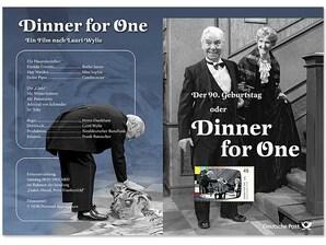 """Erinnerungsblatt """"Diner for One"""""""