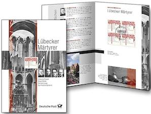 """Erinnerungsblatt """"Lübecker Märtyrer"""""""