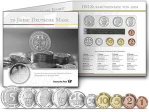 """Numismatisches Gedenkblatt """"70 Jahre Deutsche Mark"""""""