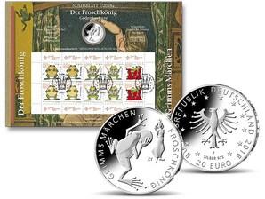 """Numisblatt: """"Grimms Märchen - Froschkönig"""""""