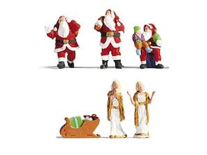 """Figuren-Set """"Weihnachten"""", H0"""