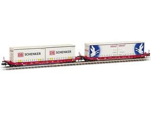 Containerwagen, Sgkkms, Ep. VI, Spur N (2er-Set )