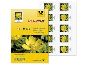 "Markenset ""Winterling"", 0,10 EUR, 10er-Set"