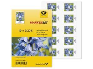 """Markenset """"Hasenglöckchen"""", 0,20 EUR, 10er-Set"""