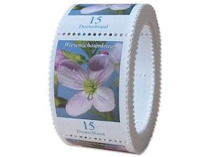 Wiesenschaumkraut, Briefmarke zu 0,15 EUR, 200er-Rolle