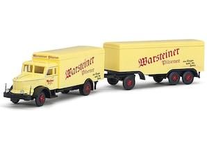 """Krupp Titan Hängerzug """"Warsteiner"""", 1:160"""