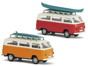 2er-Set VW T2 Camper, 1:160