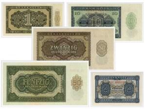 Frühe Mark Banknoten DDR
