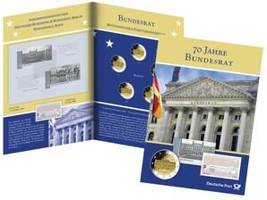 """Gedenkblatt """"Bundesrat"""""""