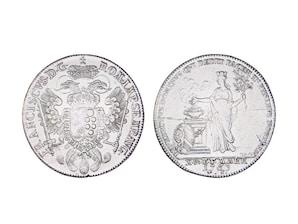 Konventionstaler Reichsstadt Nürnberg, Franken, 1763 - 1765