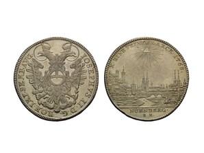 Konventionstaler Reichsstadt Nürnberg, Franken, 1765 - 1780
