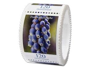 Traubenhyazinthe, Briefmarke zu 1,20 EUR, 100er-Rolle