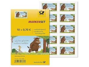 """Markenset """"Der Grüffelo"""", Briefmarke zu 0,70 EUR, 10er-Set"""