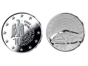 10-Euro Münze Museumsinsel Berlin; PP