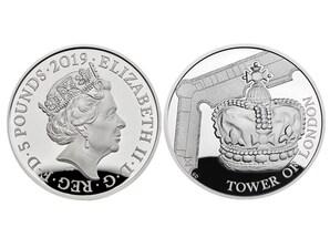 """5 Pfund Silbermünze """"Die Kronjuwelen"""" (GB)"""