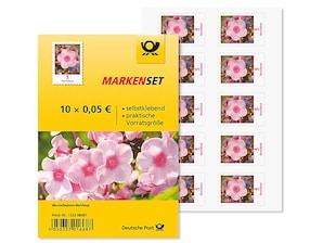 """Markenset """"Phlox"""", 0,05 EUR, 10er-Set"""