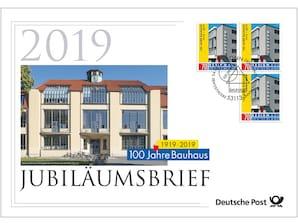 """Jubiläumsbrief """"100 Jahre Bauhaus"""""""