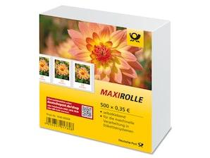 """Maxirolle """"Dahlie"""", Briefmarke zu 0,35 Euro, 500er-Rolle"""