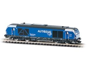 Diesellok BR 247 909 Vectron DE Autozug Sylt, Ep. VI, Spur N