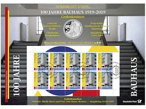"Numisblatt: ""100 Jahre Bauhaus"""