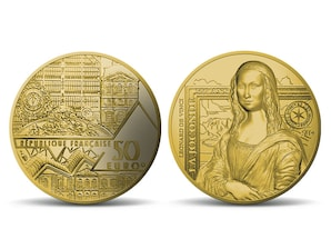 "50 Euro Goldmünze ""La Joconde"" 2019 (F)"