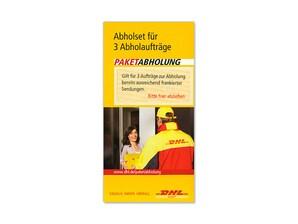Bild DHL Abholset (Coupons) für Paketabholung
