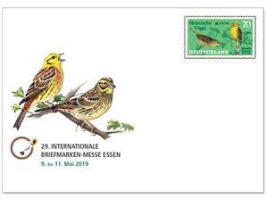"""Messebriefumschlag """"29. Internationale Briefmarkenmesse Essen 2019"""""""