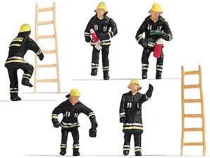 "Figuren-Set ""Feuerwehr"", H0"
