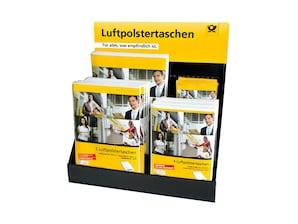 Deutsche Post Luftpolstertaschen Display
