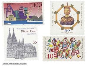 """Raritäten """"Mein Land meine Marken - Nordrhein-Westfalen"""""""