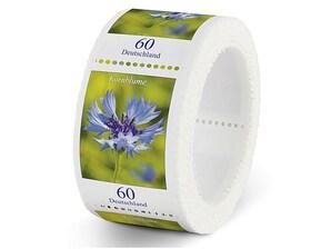 Kornblume, Briefmarke zu 0,60 EUR, 200er-Rolle