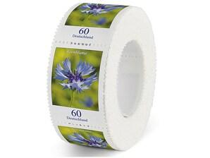 Kornblume, Briefmarke zu 0,60 EUR, 500er-Rolle