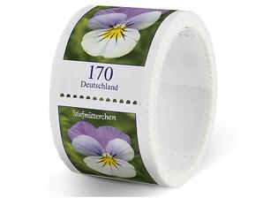 Stiefmütterchen, Briefmarke zu 1,70 EUR, 100er-Rolle
