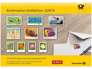 "Steckkarte: ""Briefmarken-Kollektion 2/2019"""