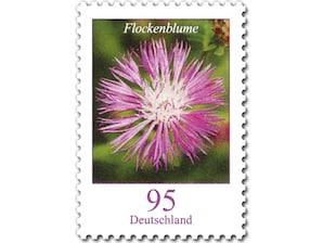 Flockenblume, Briefmarke zu 0,95€, 10er-Bogen