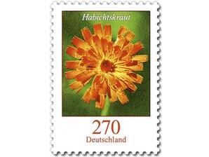 Habichtskraut, Briefmarke zu 2,70 EUR, 10er-Bogen