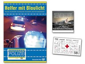 """Gedenkset """"Helfer mit Blaulicht"""""""